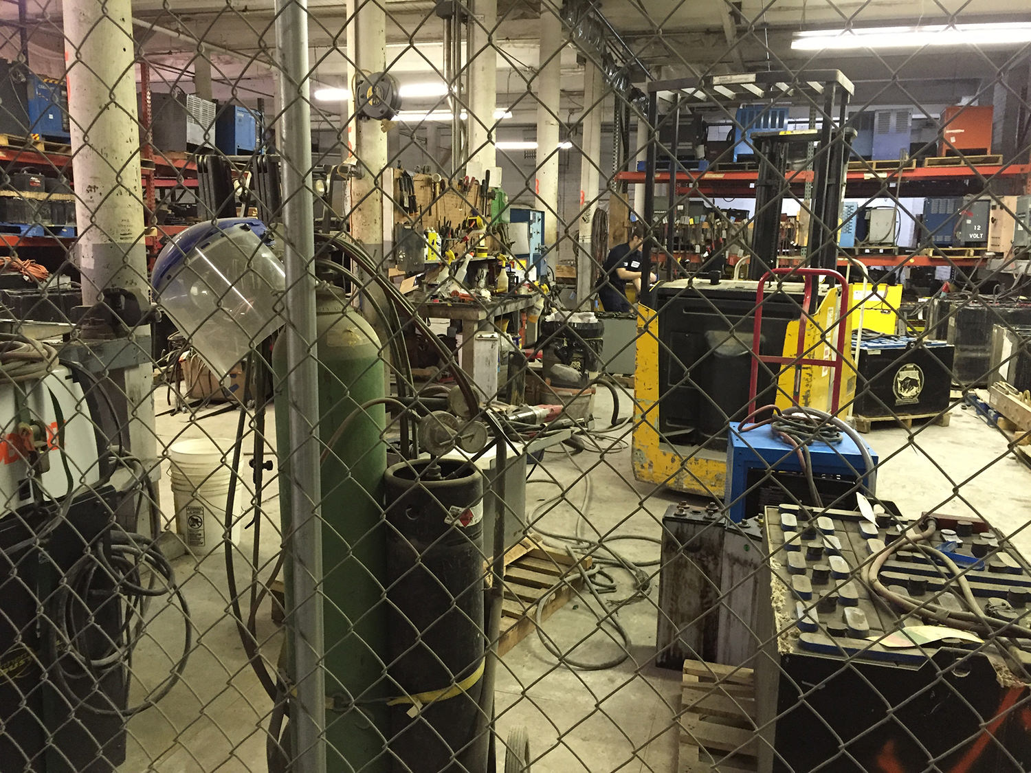 New England Battery's service facility will survey your used industrial battery and determine if we can recondition it to extend it's useful life.