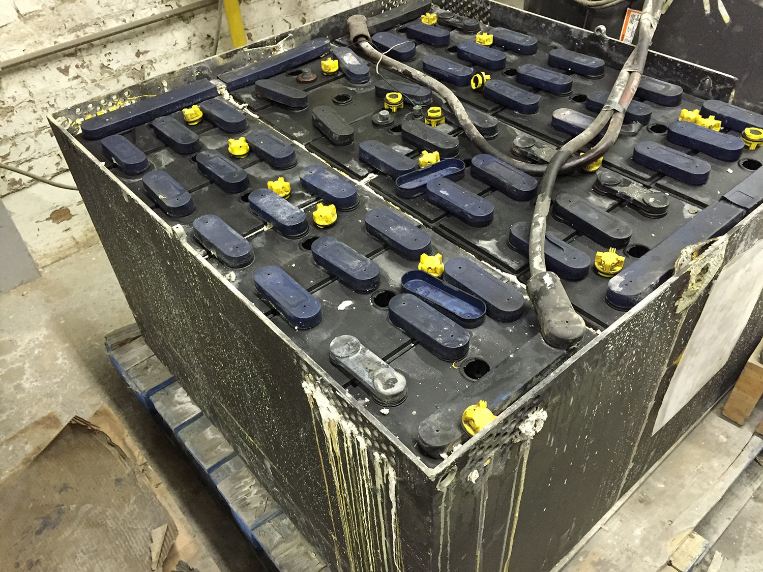 We provide testing and repair of your used industrial batteries.