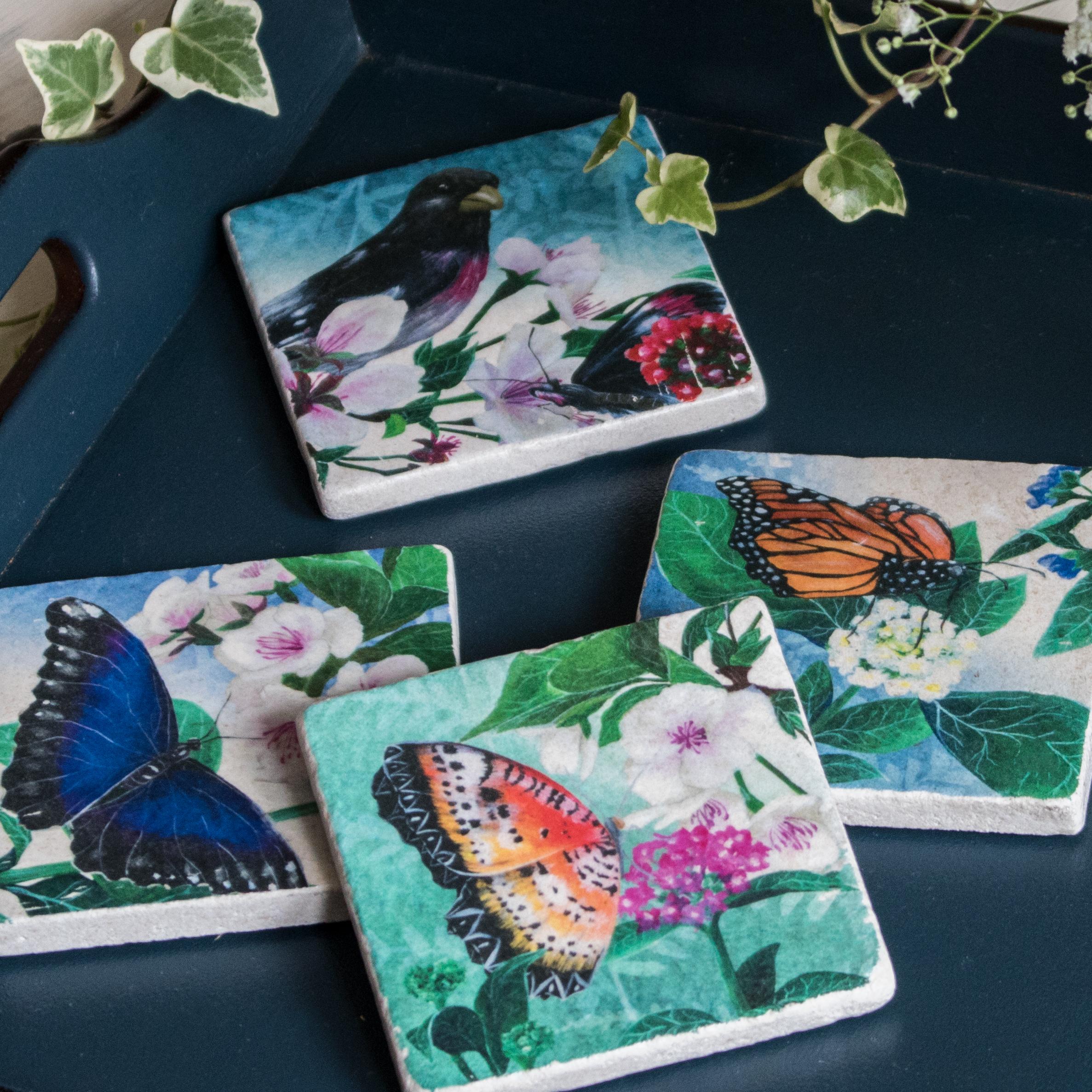 Delicate Butterflies -