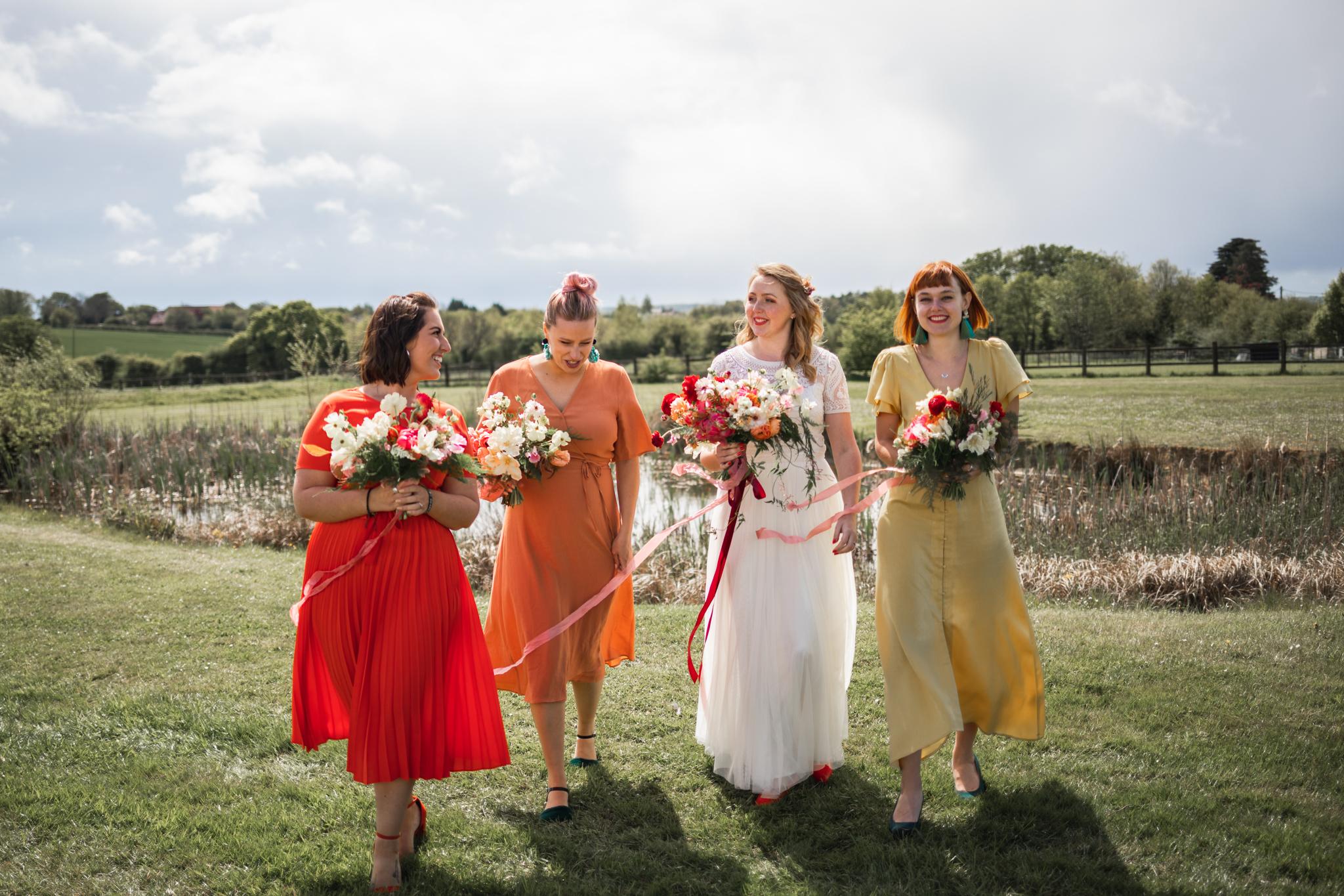Cambridge Wedding Photographer Documentary Wedding Photographer Creative Bride