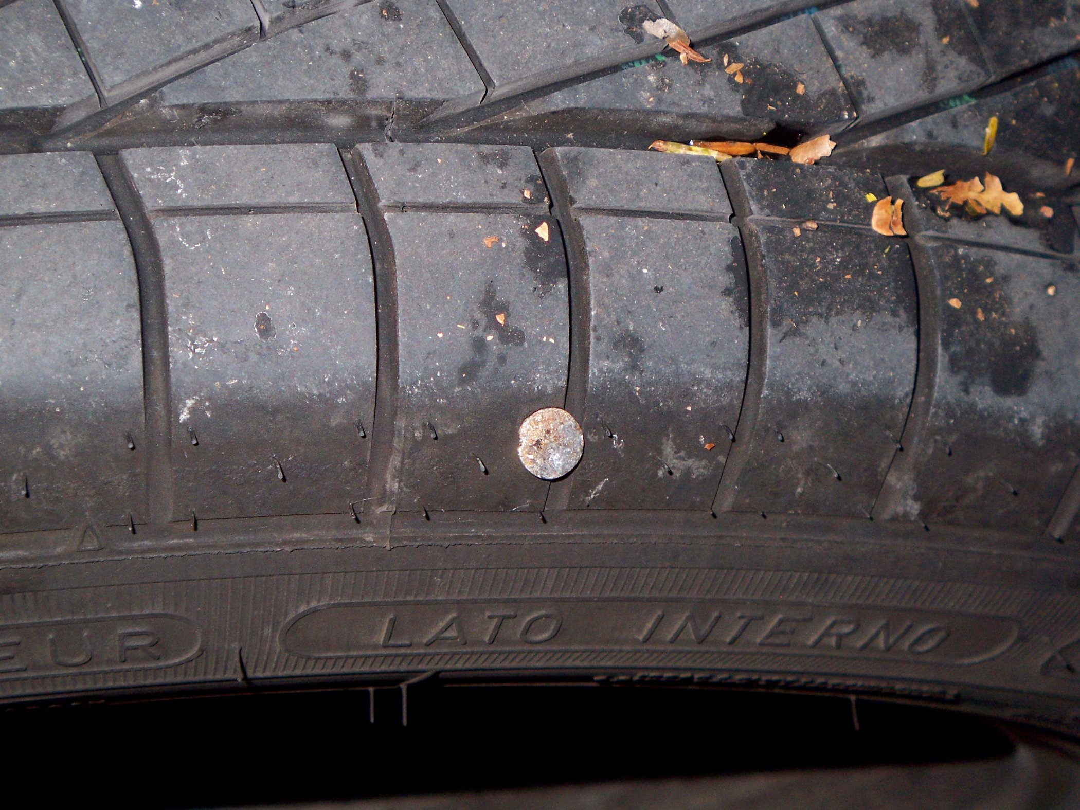 Puncture:  Usually caused by road debris