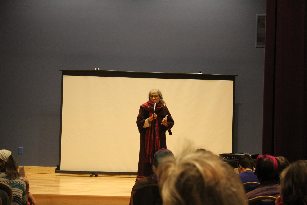 Phyllis Larabee reads a selection of her poetry