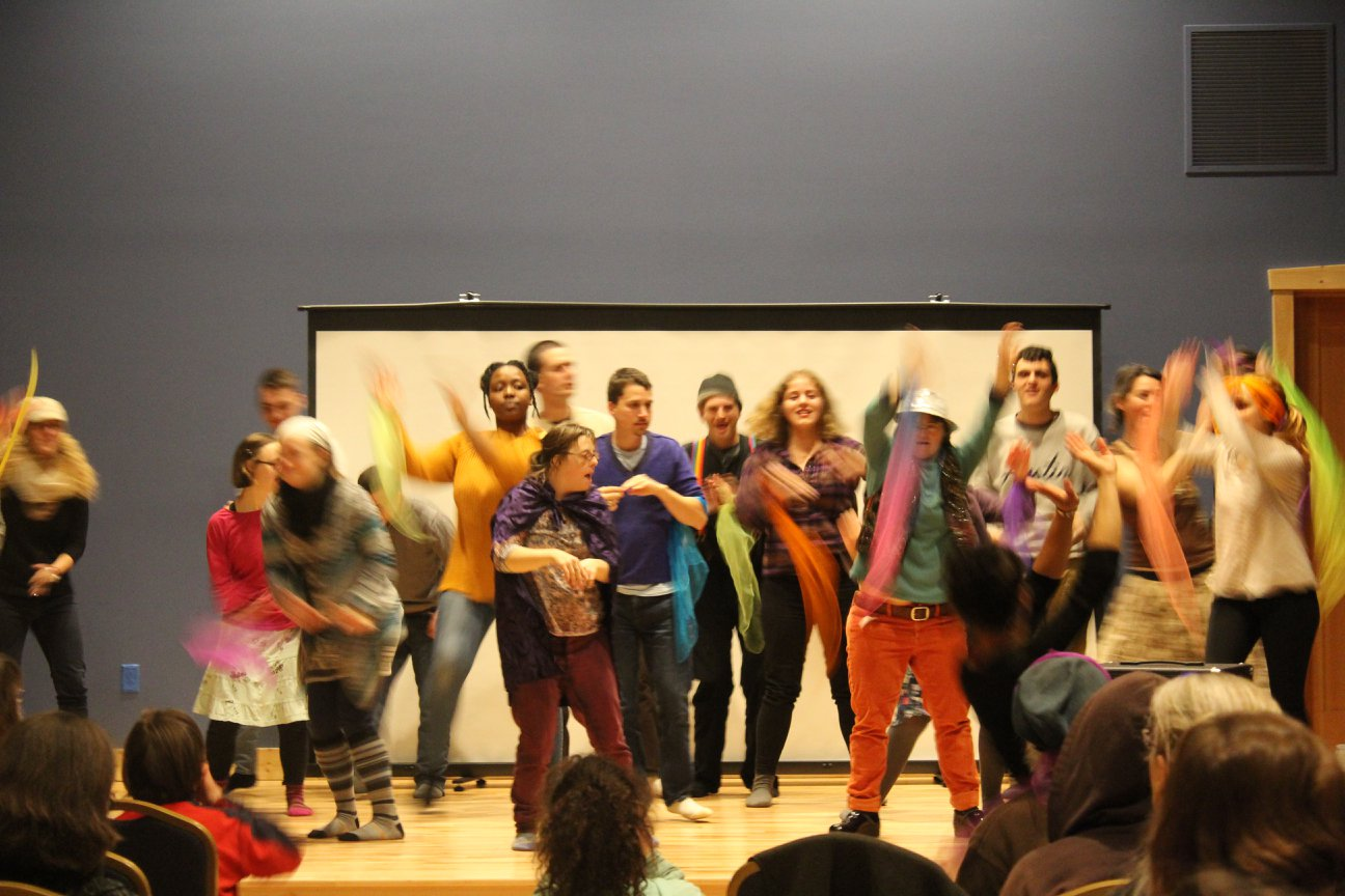 Heartbeet Friends perform the grand finale