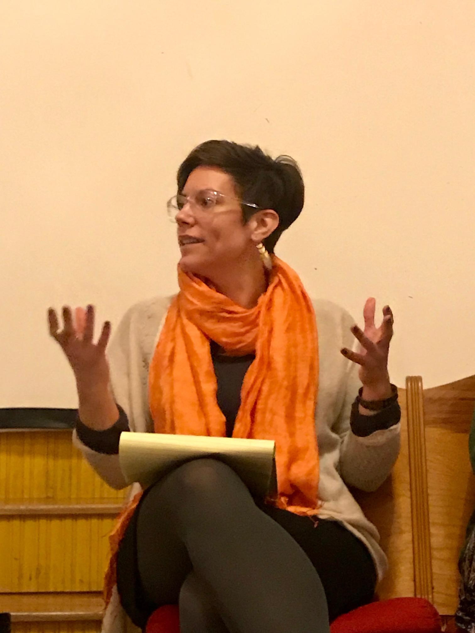 Gwen Pokalo, Moderator, of the Center for Women in Enterprise