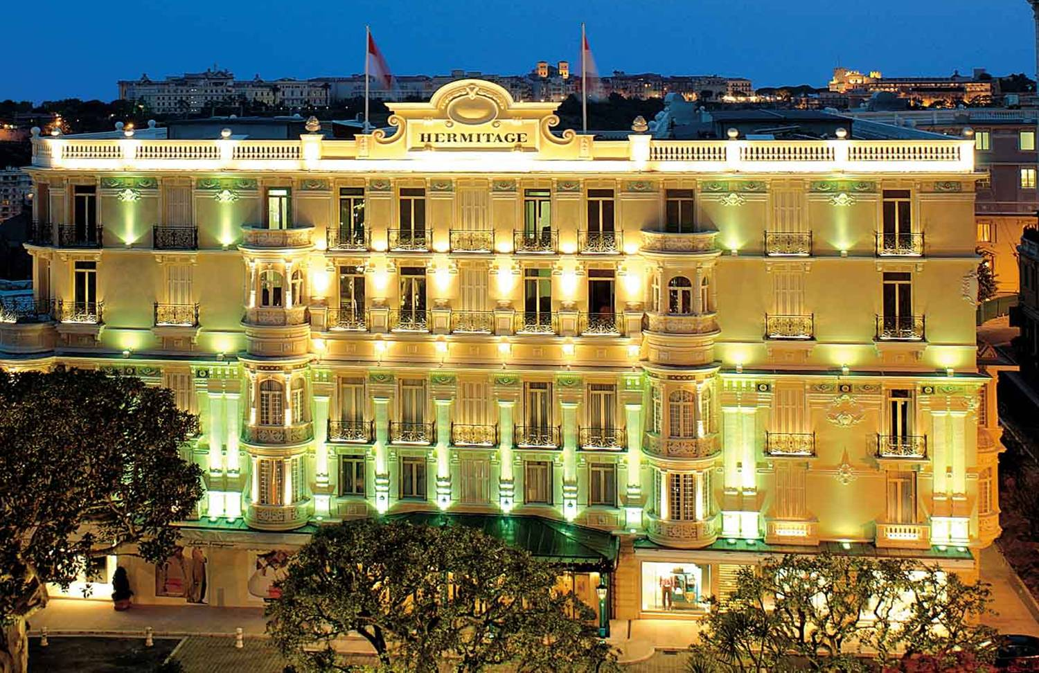 Hotel Hermitage - La Salle Belle Epoque - From £510 per person