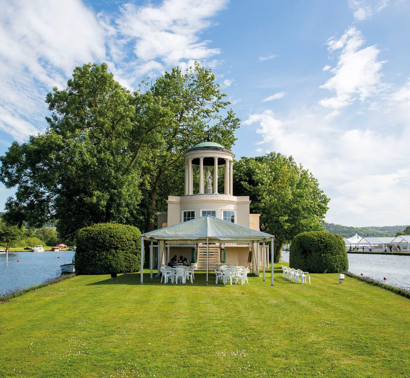 Temple Island for 40 Guests - Henley on Thames, OxfordshireWednesday 1 to Sunday 5 July 2020From £430 + VAT Per Person