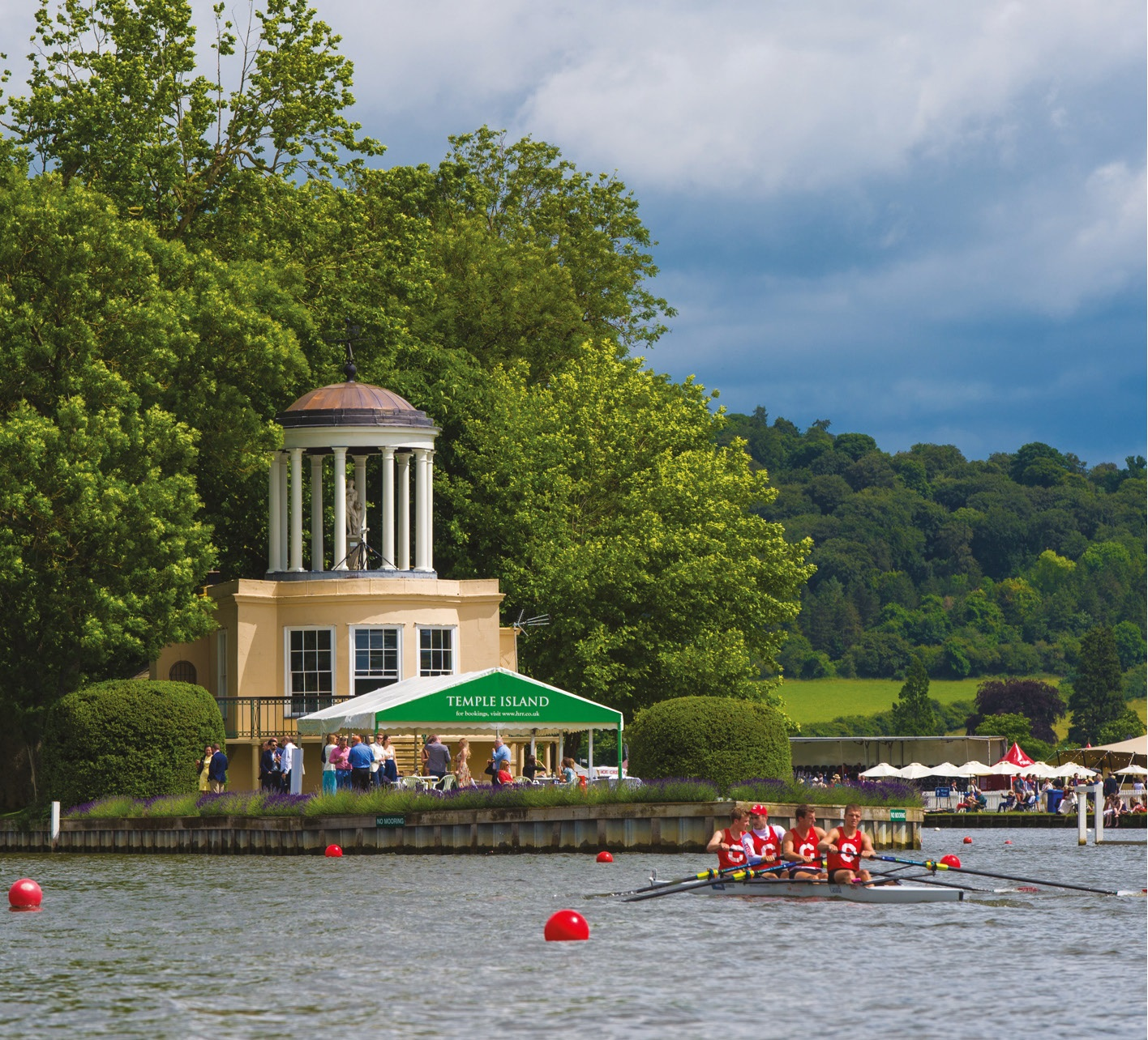Henley royal regatta temple island private hospitality vip package book