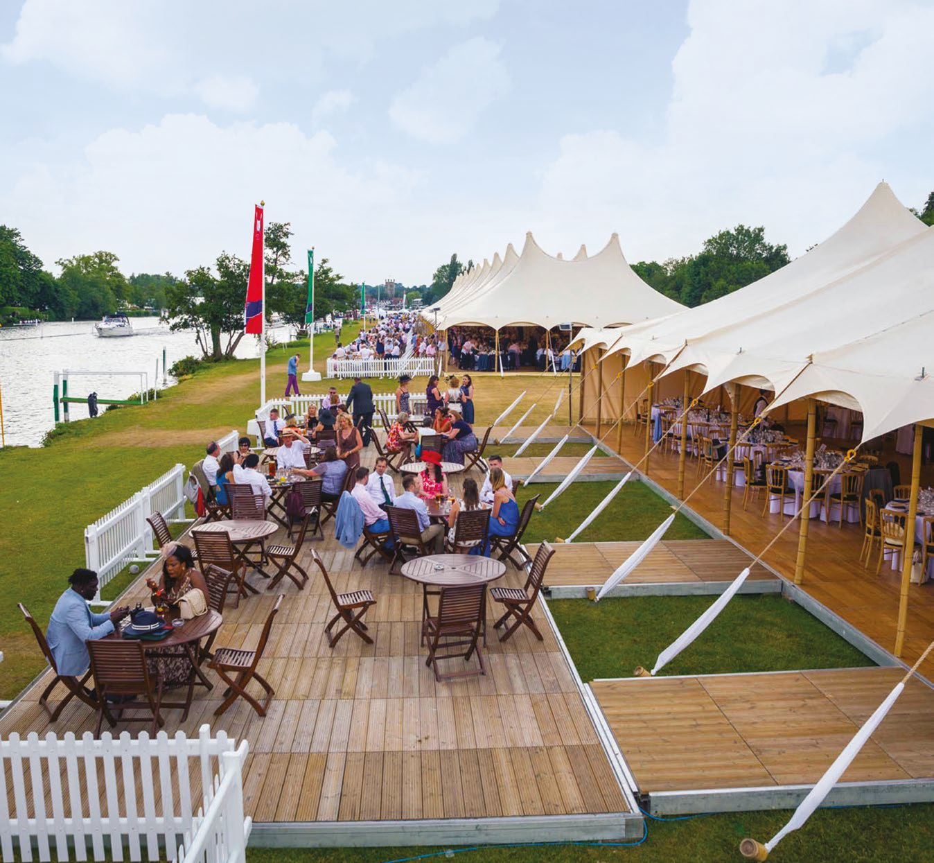 Fawley Club House for 100 or More Guests - Henley on Thames, OxfordshireWednesday 1 to Sunday 5 July 2020Price on Application