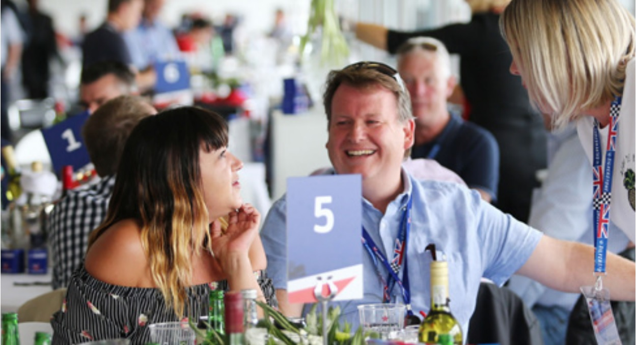 Brooklands Restaurant - Silverstone Circuit, NorthamptonshireFriday 17 to Sunday 19 July 2020 (TBC)From £205 + VAT Per Person (TBC)
