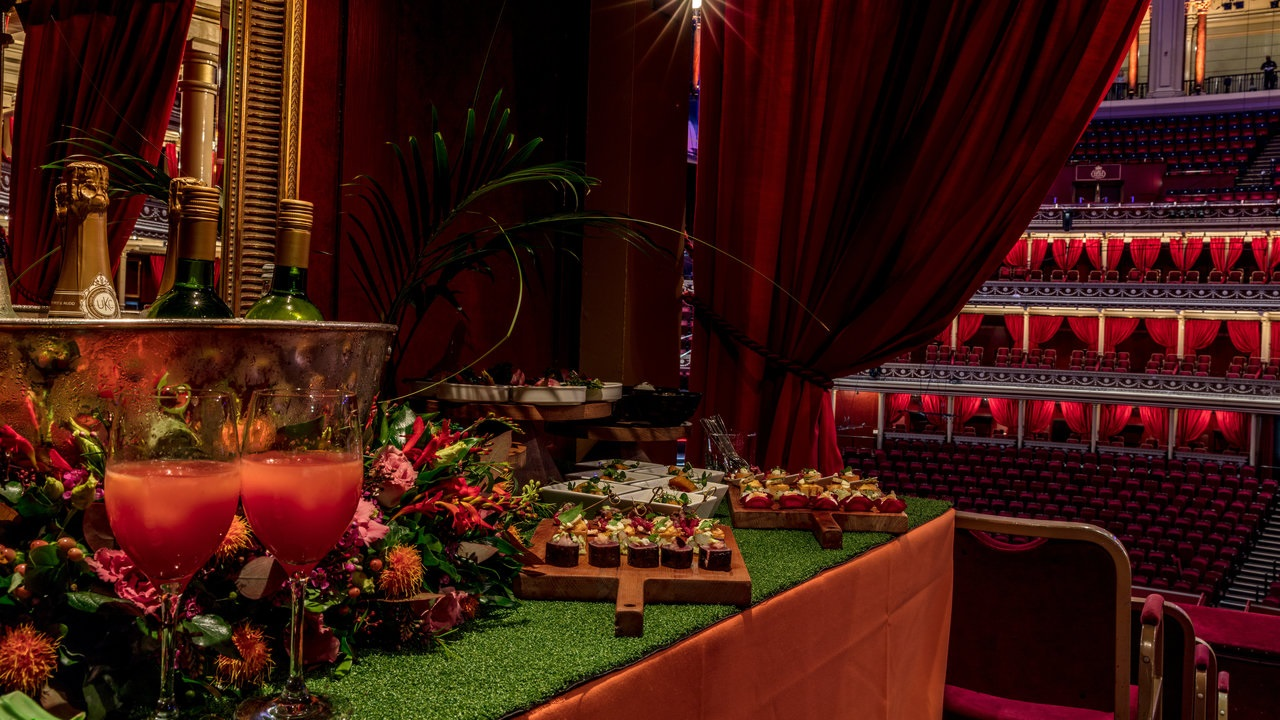 VIP Box Experience - From £355 + VAT per person
