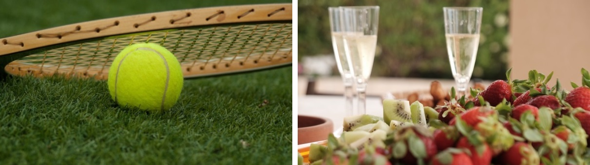 Wimbledon tennis vip package restaurant lunch book hospitality