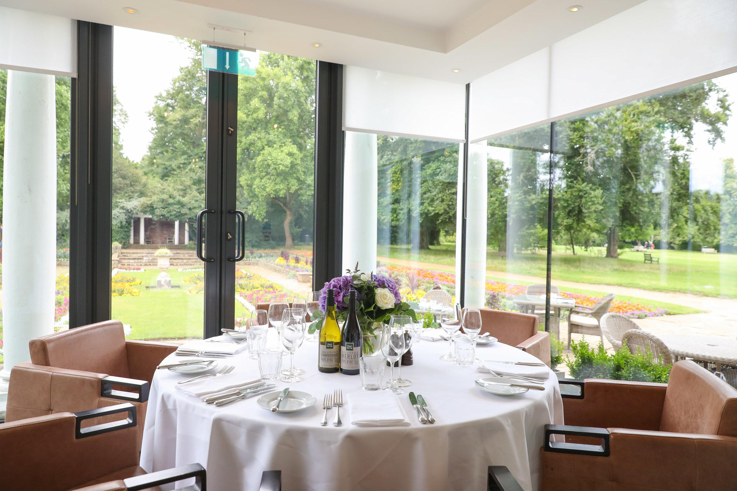 Opus one room cannizaro house wimbledon tennis vip lunch hospitality