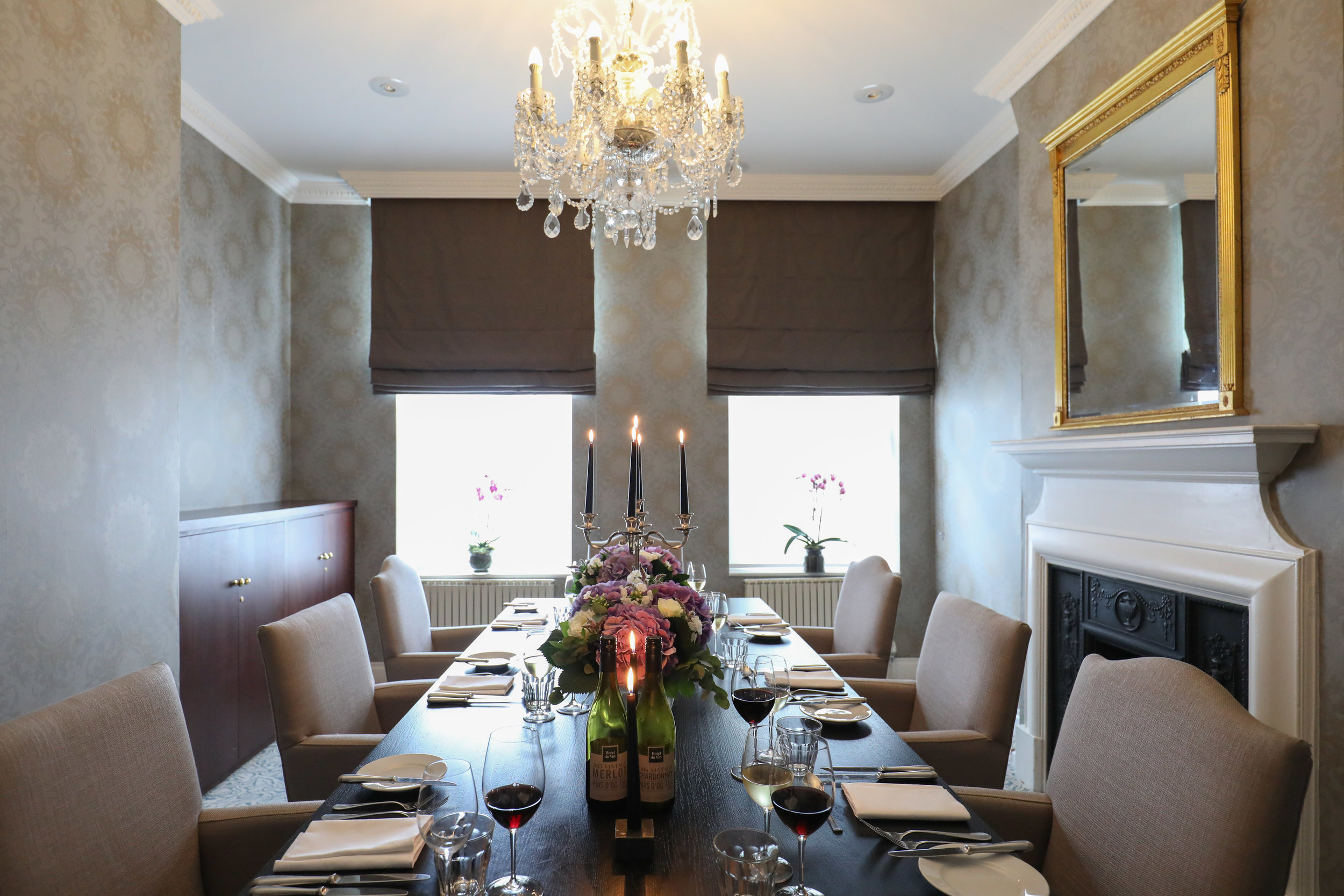 Lallier room cannizaro house wimbledon tennis vip lunch hospitality