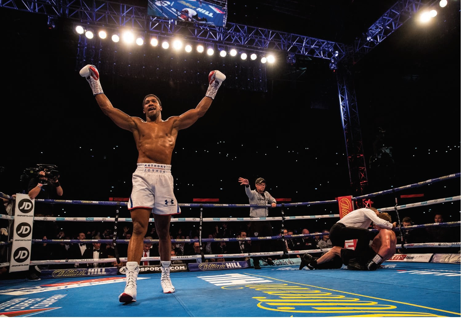 Anthony Joshua vip package tickets new york boxing