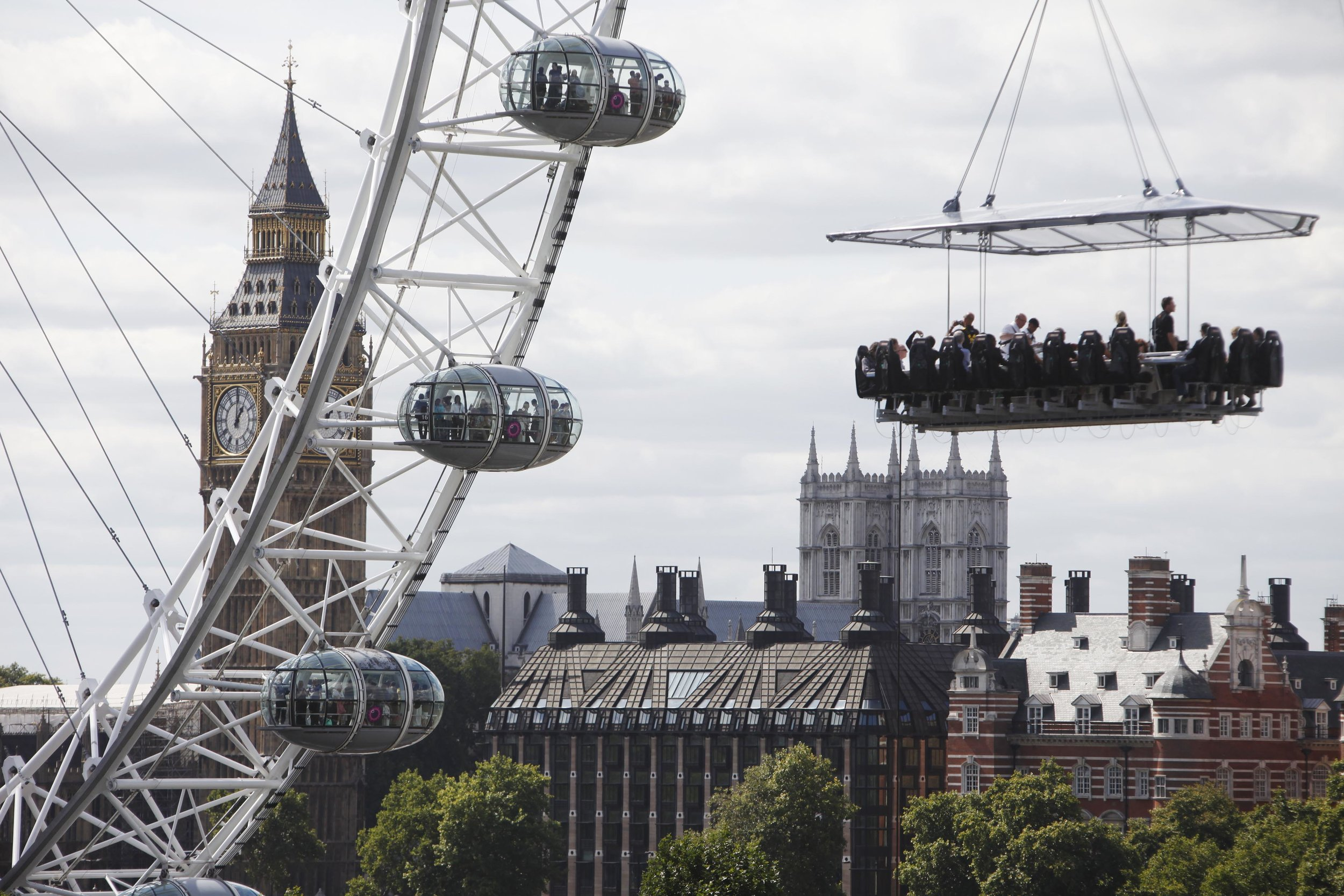 London in the Sky - The O2 Arena Complex, London, SE10 0DXWednesday 1 May to Monday 15 July 2019