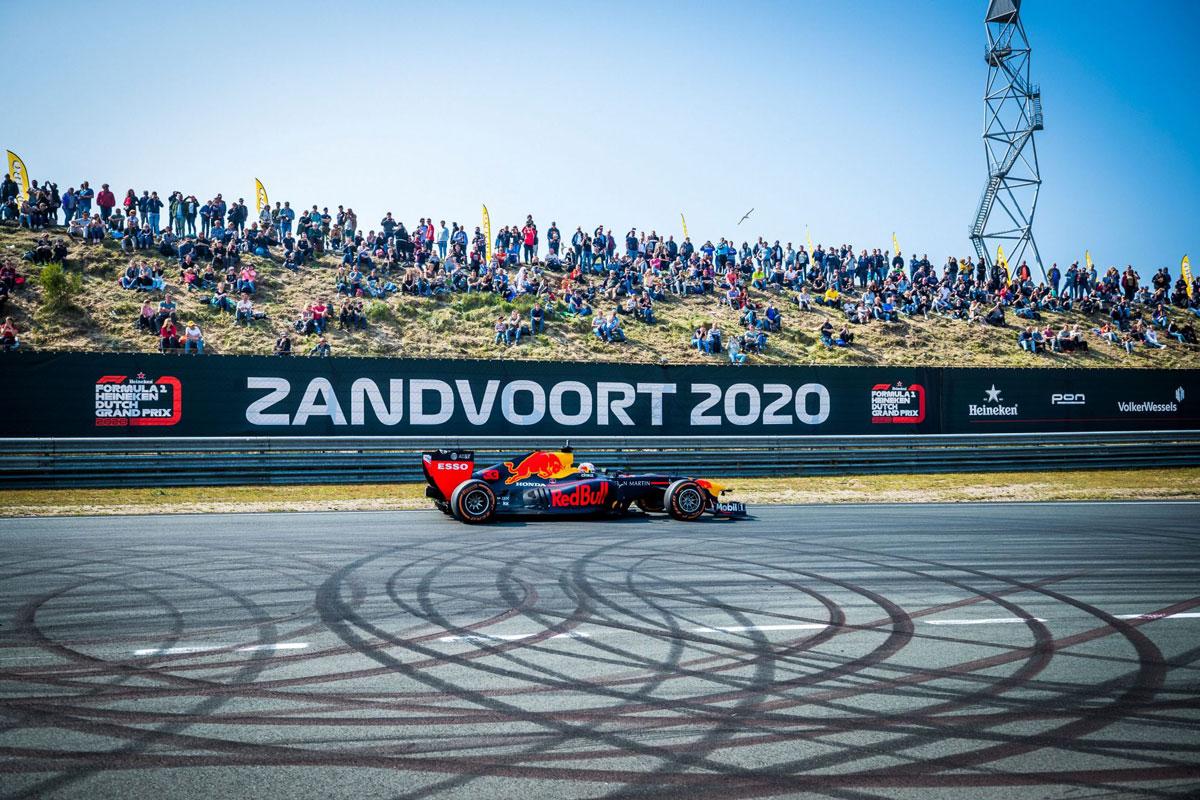 Dutch Formula 1 Grand Prix 2020 - Circuit Zandvoort, North HollandFriday 1 to Sunday 3 May 2020 (TBC)