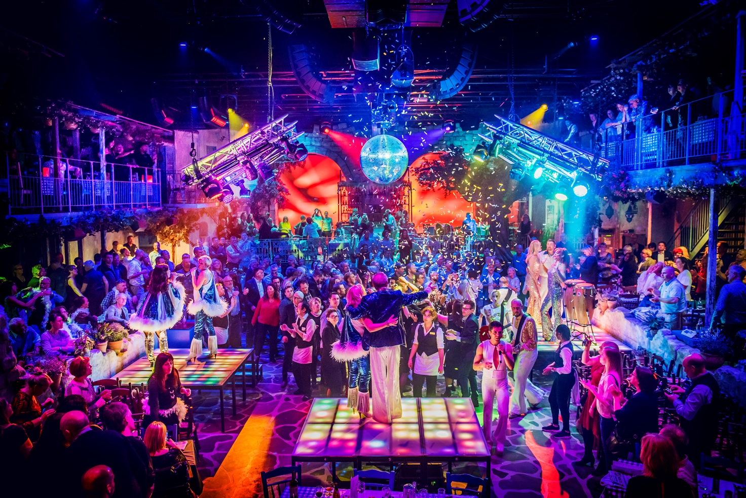 Mamma Mia!The Party - The O2 Arena Complex, LondonThursday 29 August 2019 to Friday 29 November 2020