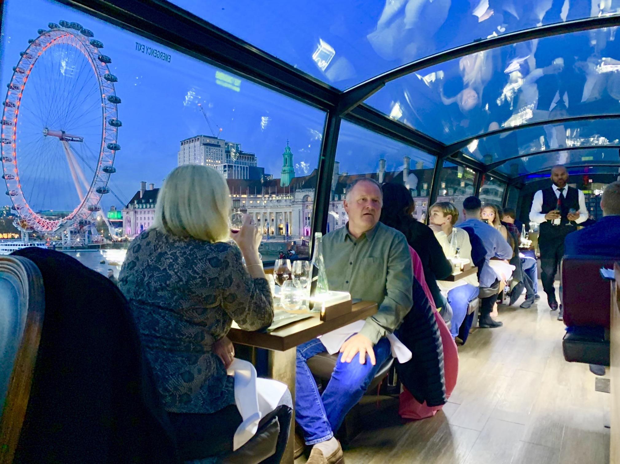 DinnerTour - From £125 + VAT per person