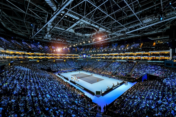 The Nitto ATP Finals take place each November at The O2