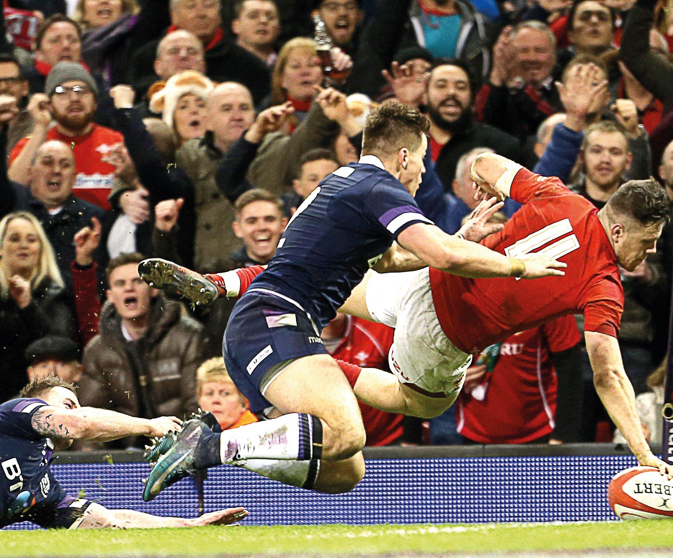 Wales vs Scotland - Guinness Six Nations 2020 - Principality Stadium, CardiffSaturday 14th March 2020