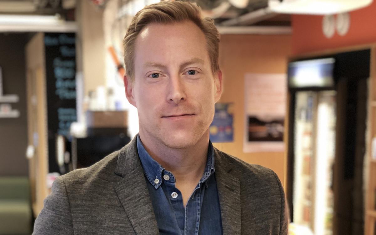 Johnas Liljegren, industry manager inom retail för Facebook i Sverige