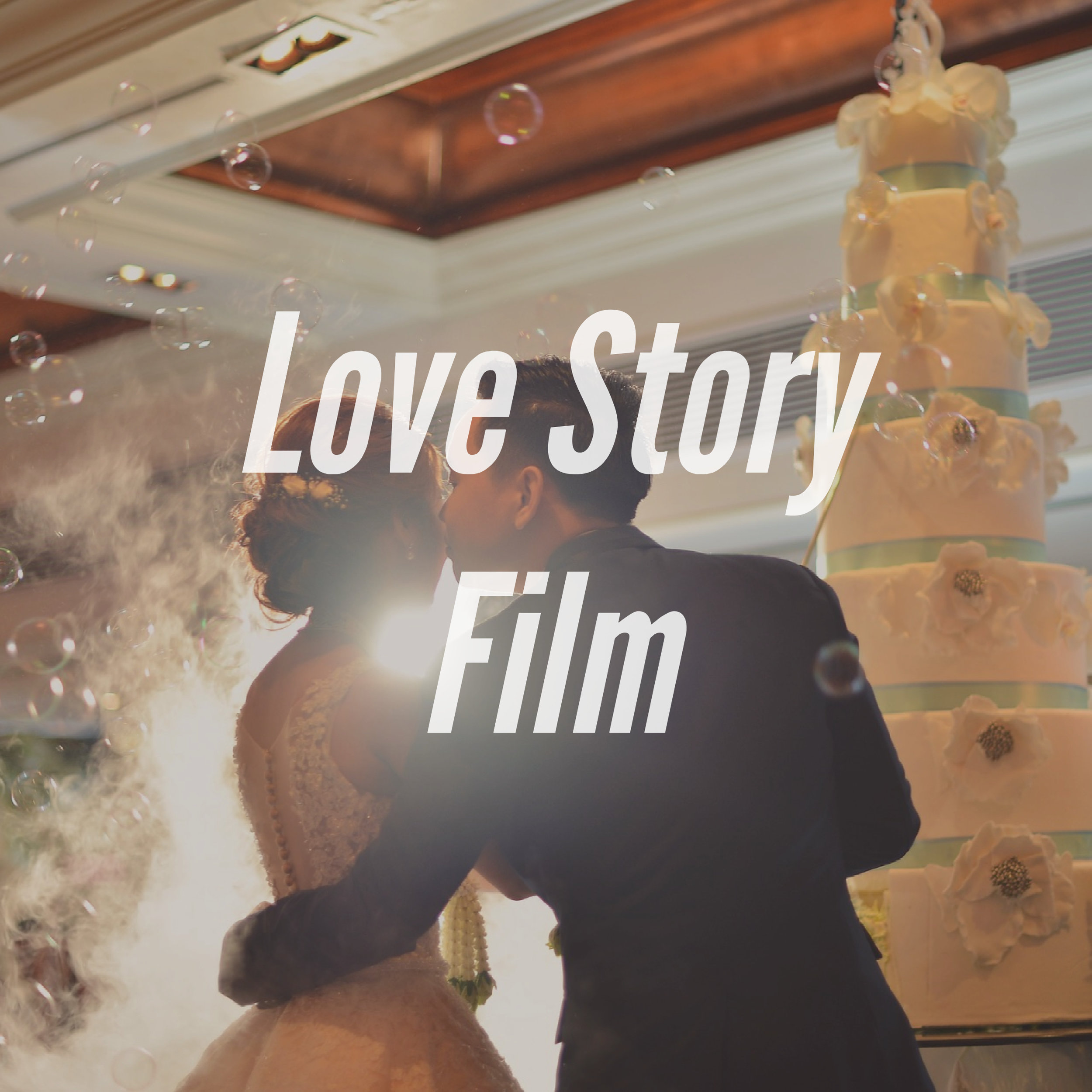 The love story film is a personalized and amazing production that captures every element of your love story. Production will begin in the months preceding your wedding and will conclude on your big day. This is a 15 to a 30-minute film.