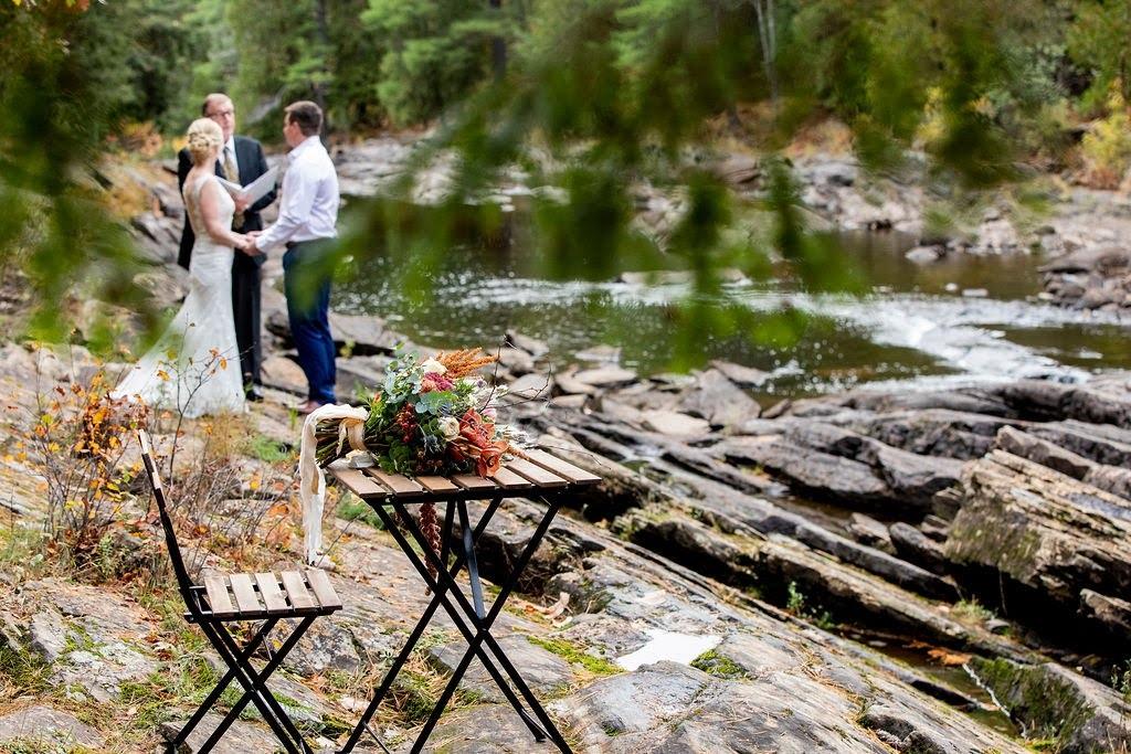 waterside elopement