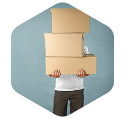 SMALL STORAGE - Small storage solutions for between 10 to 75 small boxes, up to the contents of a small garden shed.All prices quoted include VAT!
