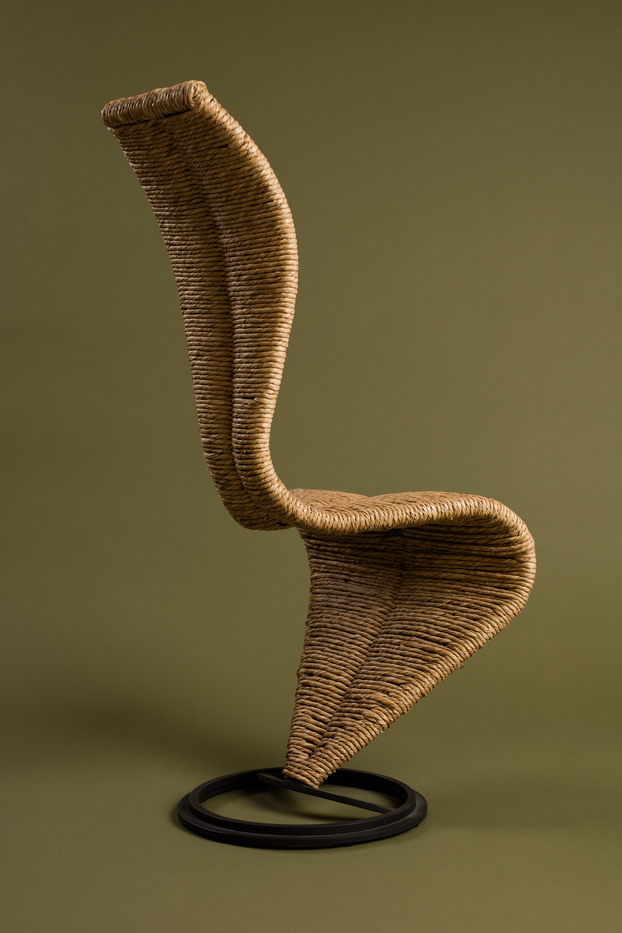 Braided & Laced - 27 Sep - 16 Dec 2018This themed exhibition at Museum of Furniture Studies shows how braiding and lacing techniques, have been used in furniture design and production from the late 19th century up to the present day. Various items from the collection have been chosen to illustrate the technical theme – from simple coffee shop chairs to exclusive pieces of prestige furniture.A themed evening (later annonced) will bring together a group of experts – designers, craftsman, producers and researchers – to discuss the prospects for braiding and lacing techniques in the past, present and future. What is the future for handcrafted furnitures today in technical and financial terms? Is it possible for it still to be made in Sweden, or is it now permanently the domain of low-cost countries?
