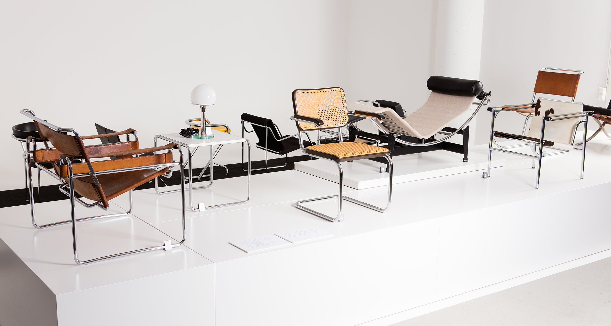 IMAGE FROM THE EXHIBITION BAUHAUS AT THE MUSEUM OF FURNITURE STUDIES