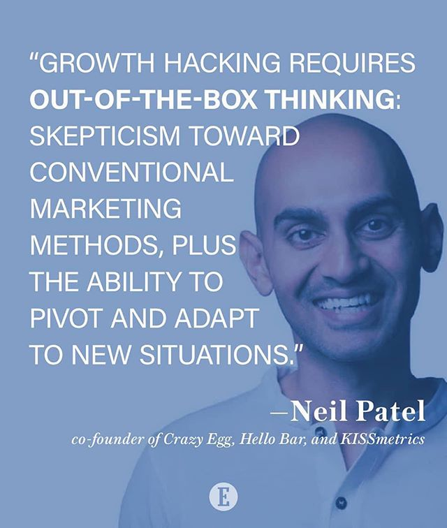 Discover the growth tactics and success strategies industry disruptors like @neilpatel have used to achieve rapid business growth and groundbreaking success with #EntrepreneurVoices on #GrowthHacking - available now! visit entm.ag/instahack  #EntrepreneurBooks ... #Repost @entrepreneur