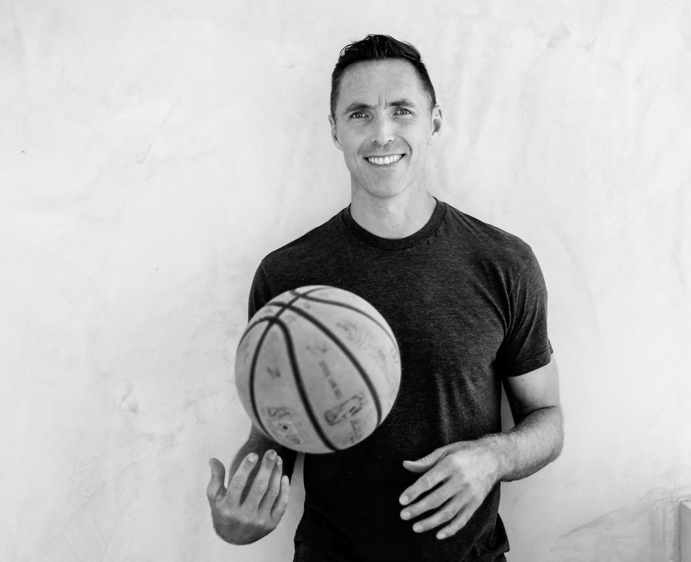 """Steve Nash - NBA HOF & Entrepreneur - """"Luke's vision, his strategy, and execution in developing our online content and business model was great. From content ideation, production, editing, social distribution, to building a small team, he had a grip on everything in the business to position us for growth. A great guy and now a good friend. I'd recommend him to help with your online strategy and growth"""""""