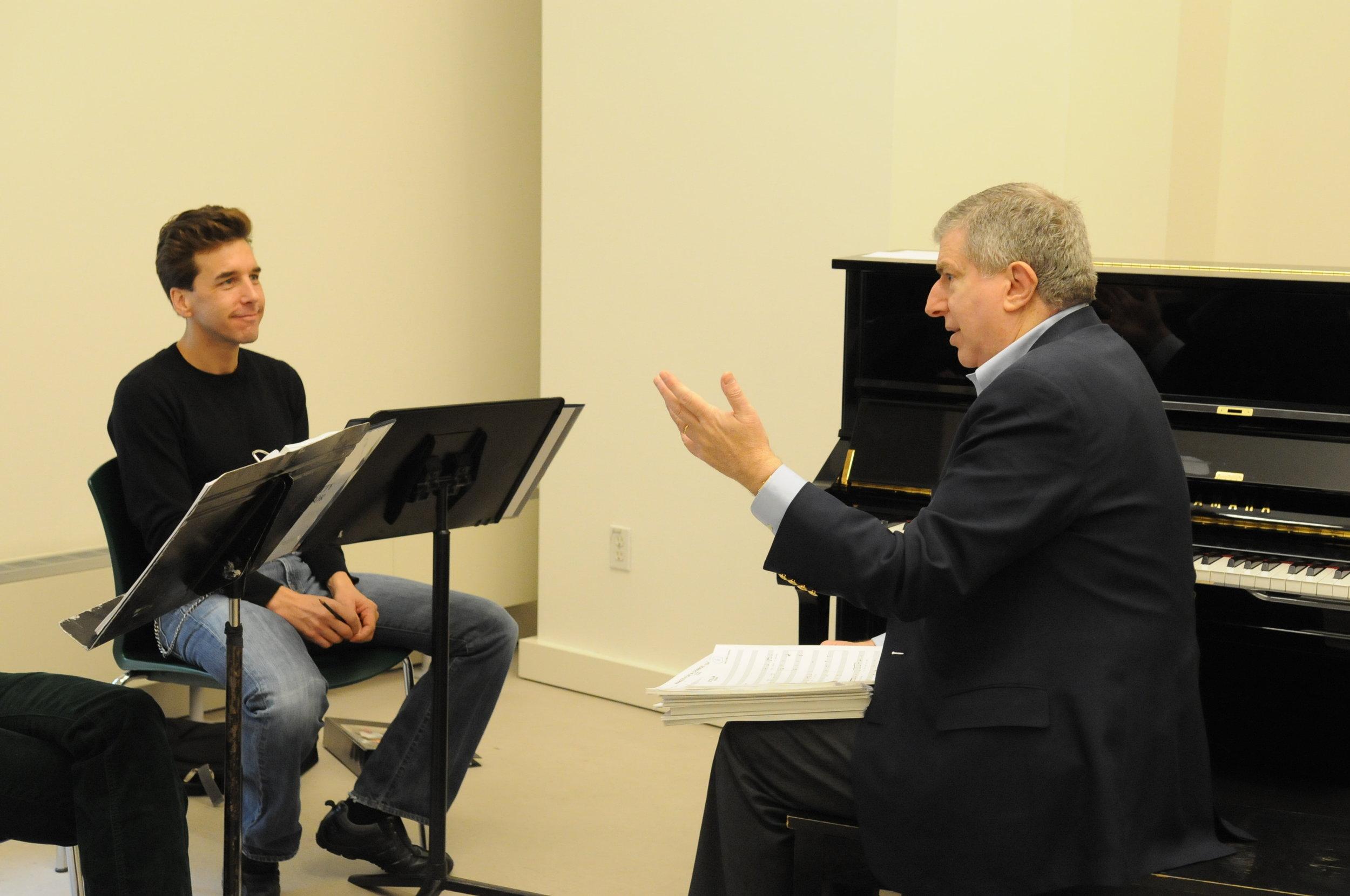with Marvin Hamlisch.JPG