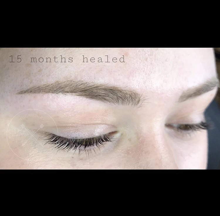 Healed brows by Jonelle.