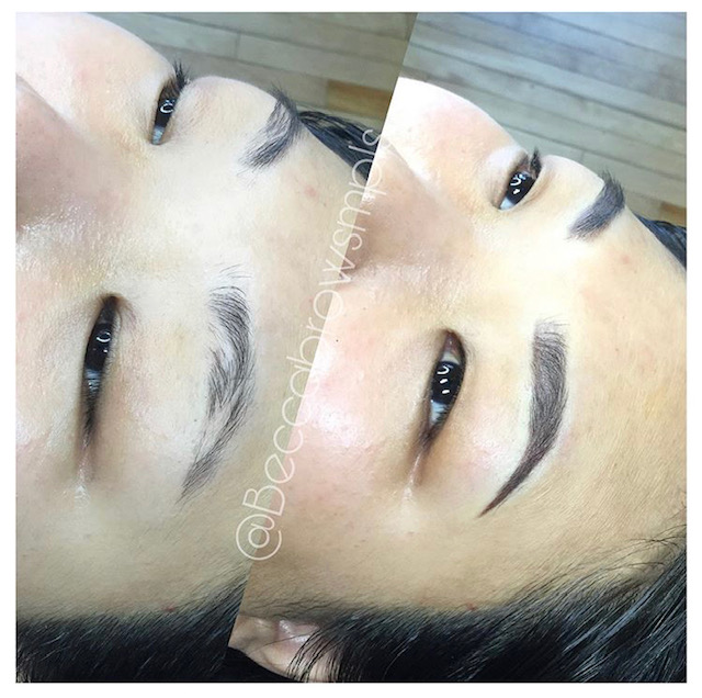 Ombre brow by Becca.