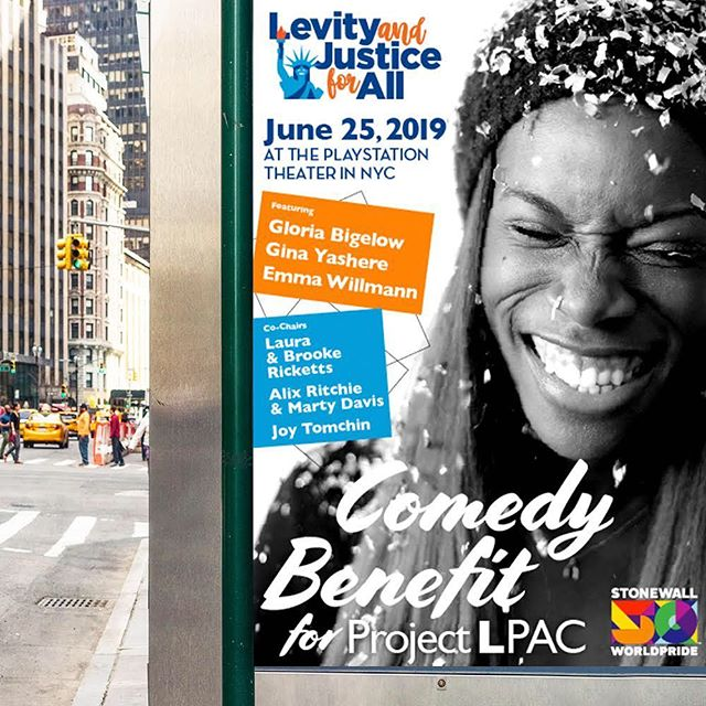 #newwork ⭐️ As if you need another excuse for a trip to New York City this summer, but if you're looking for one, this is it! @teamlpac #nycpride2019  #carecreative #graphicdesign #posterdesign #artdirection