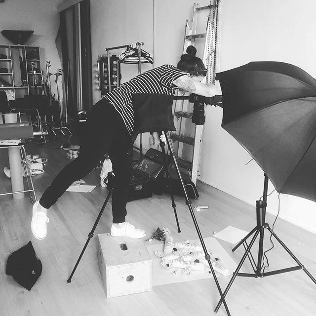 📷 #shootday 💜 @marcanthonyhaircare  #artdirection #creativedirection #carecreative @e_fancy @roirelations
