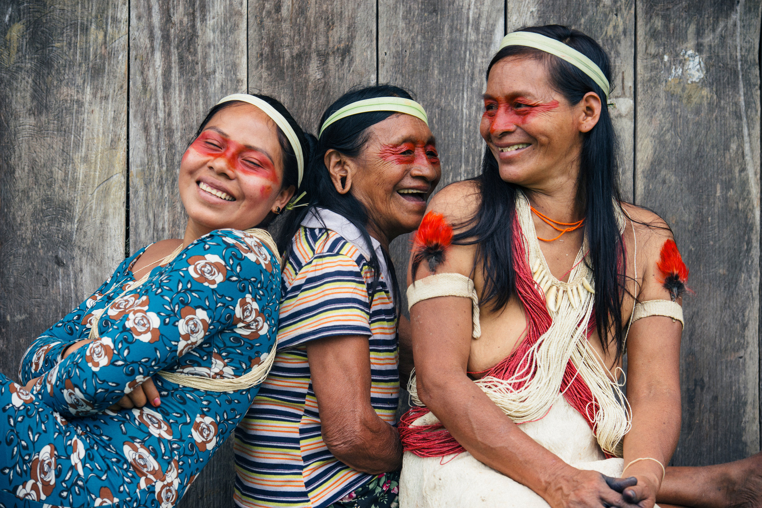 Waorani Women