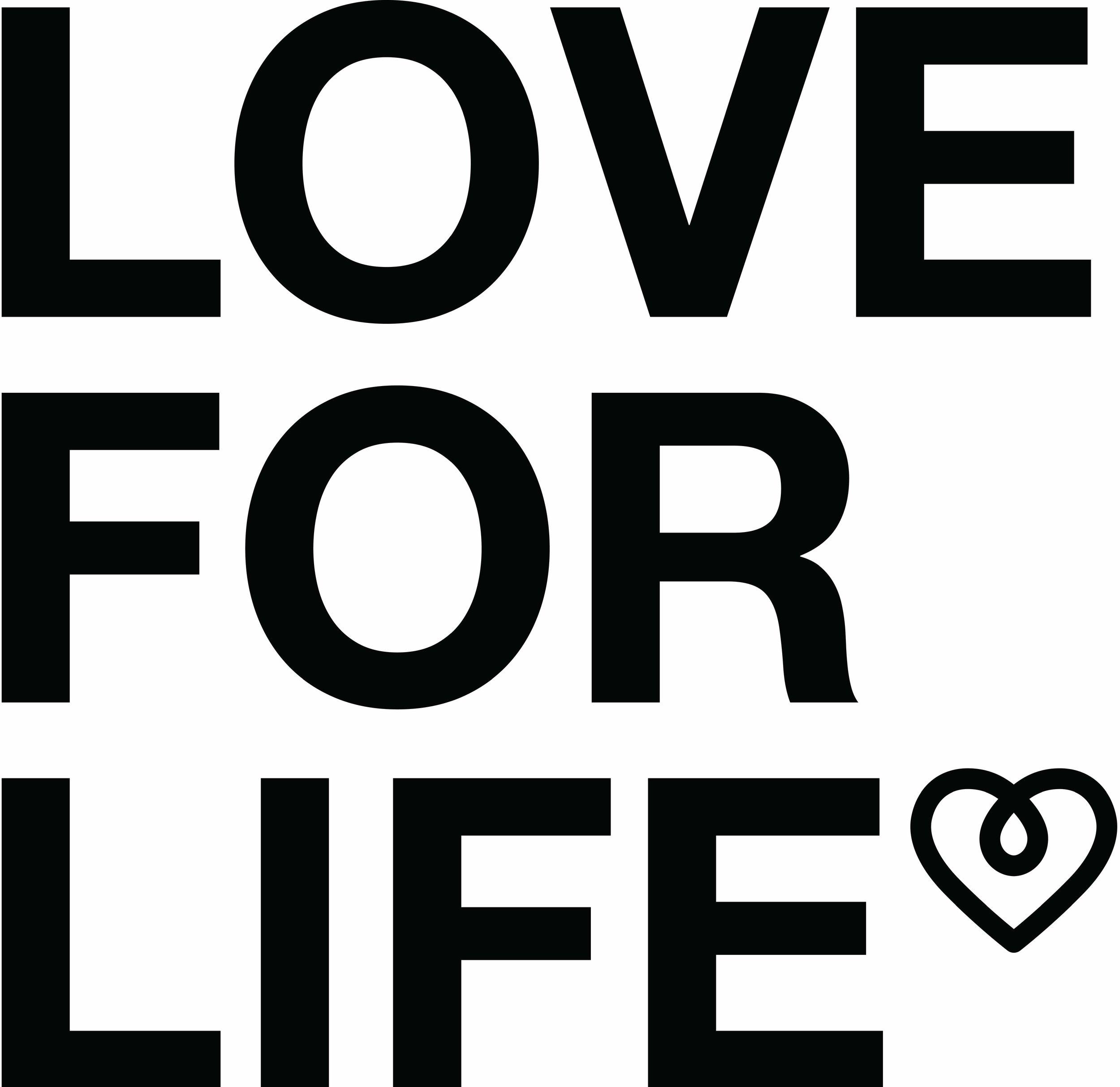 LOVE FOR LIFE Logo