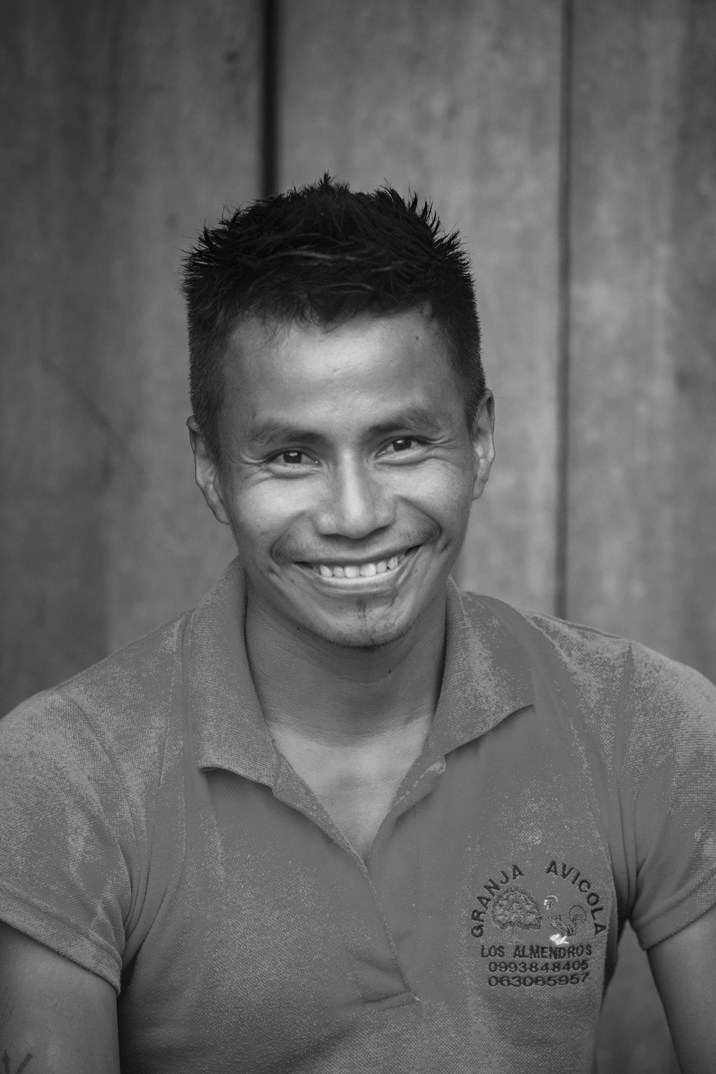 Limber Payaguaje Yiyocuro, Solar Technician