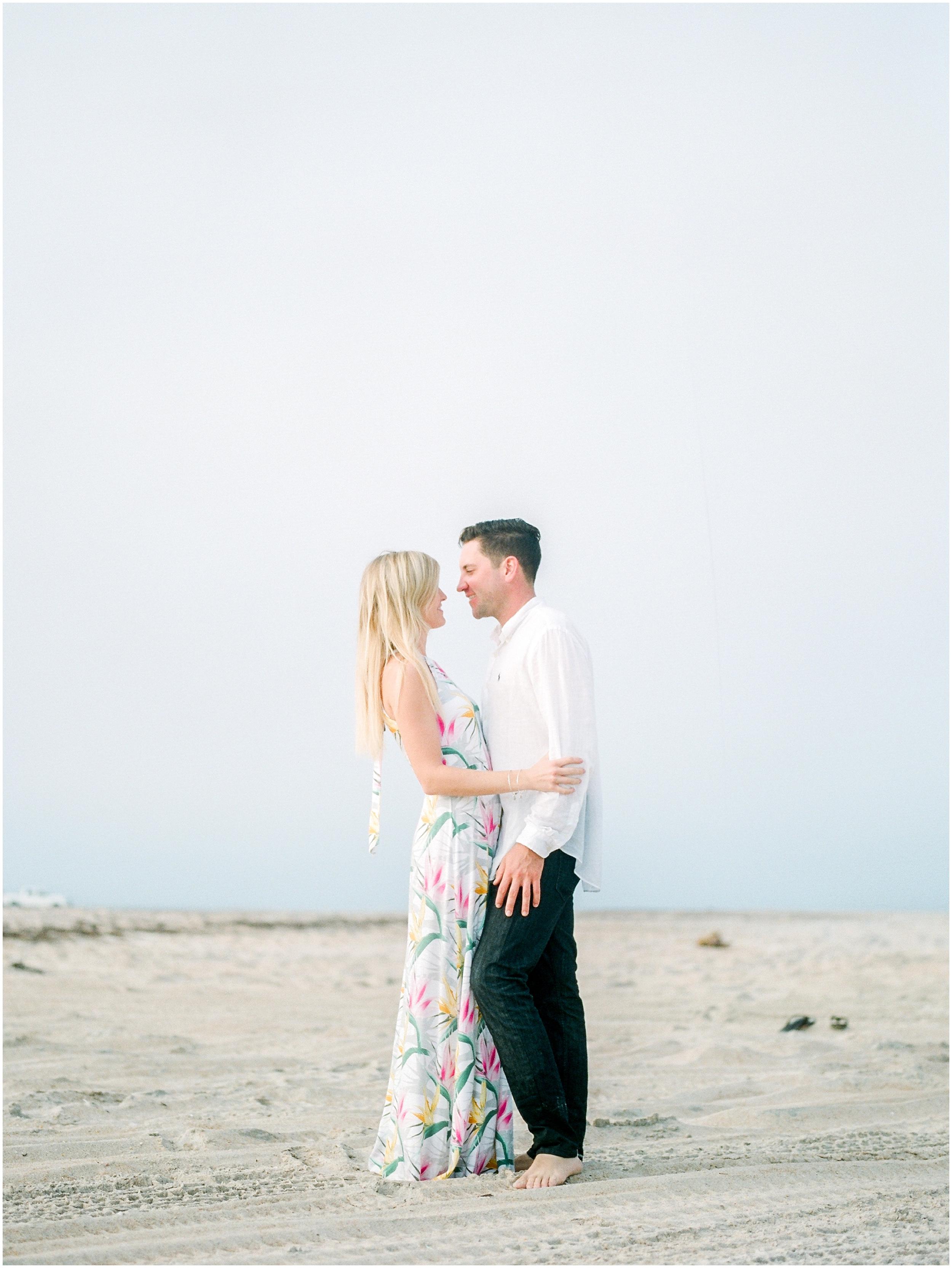 Sunrise Engagement Session at Vilano Beach- Jacksonville, Florida Fine Art Film Wedding Photography_0026.jpg