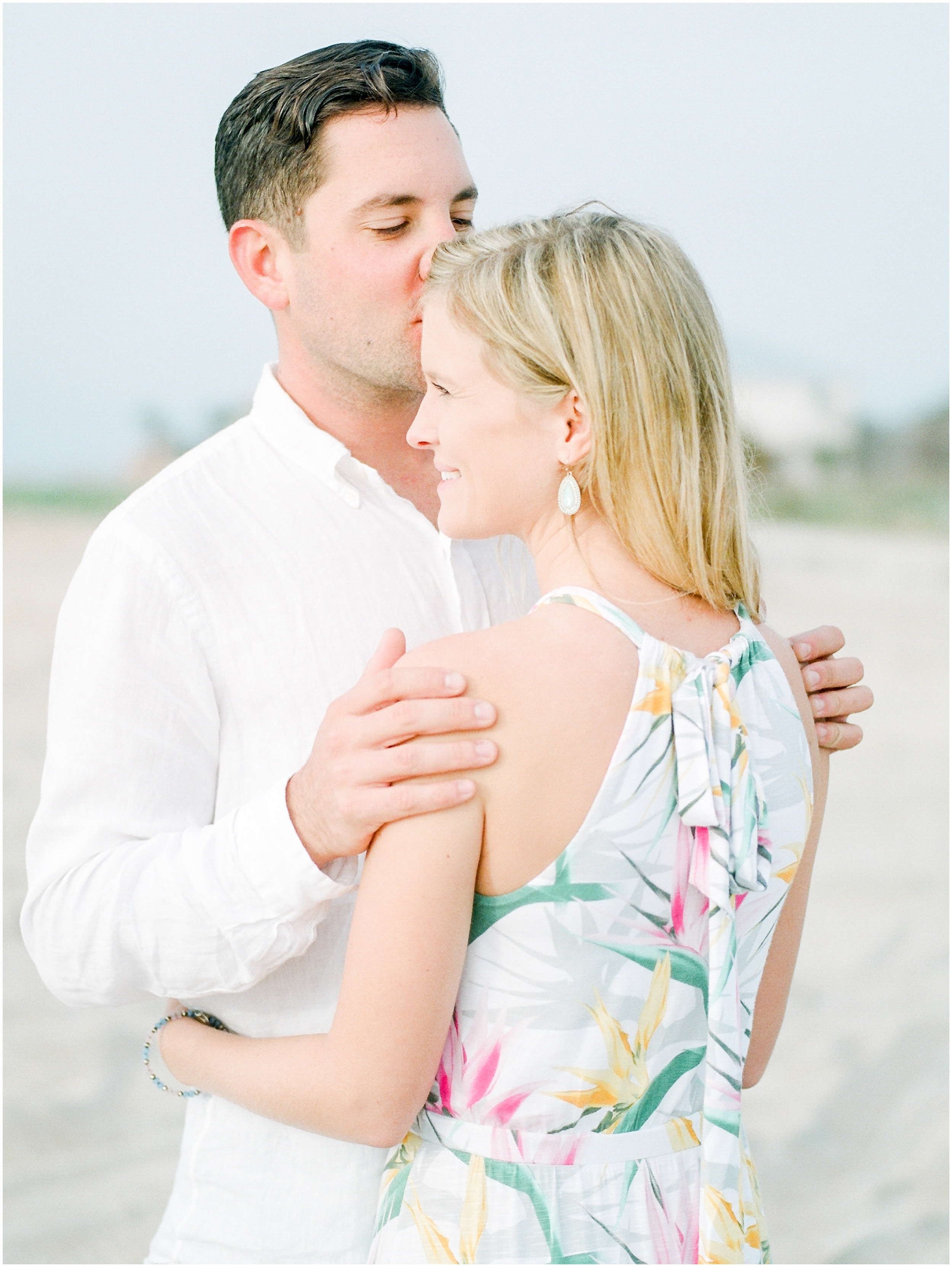 Sunrise Engagement Session at Vilano Beach- Jacksonville, Florida Fine Art Film Wedding Photography_0028.jpg