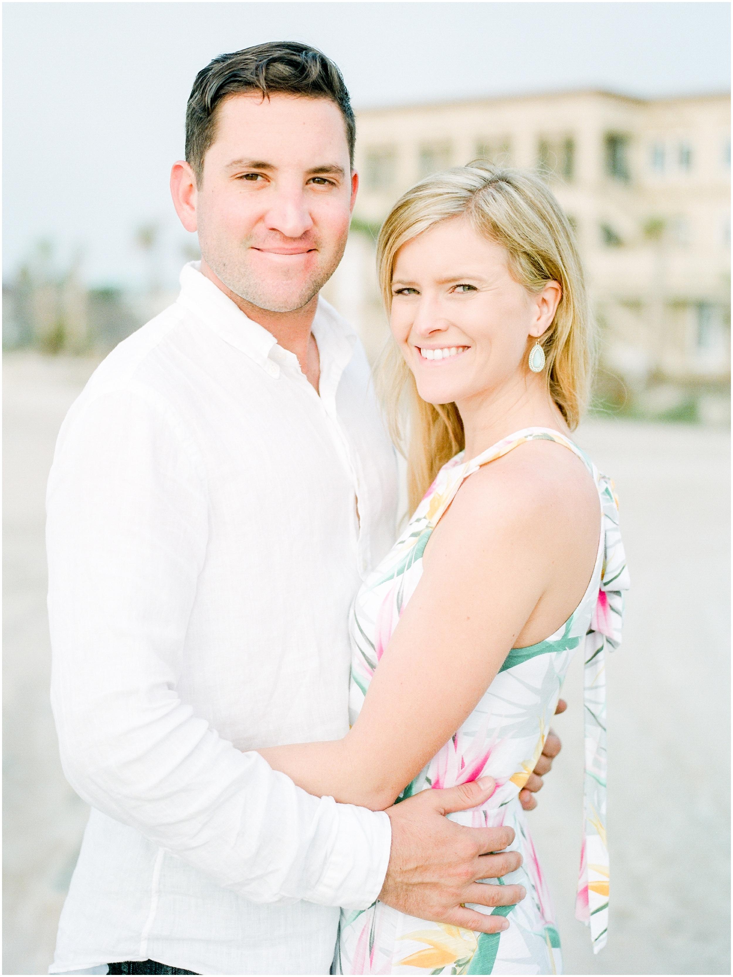 Sunrise Engagement Session at Vilano Beach- Jacksonville, Florida Fine Art Film Wedding Photography_0029.jpg