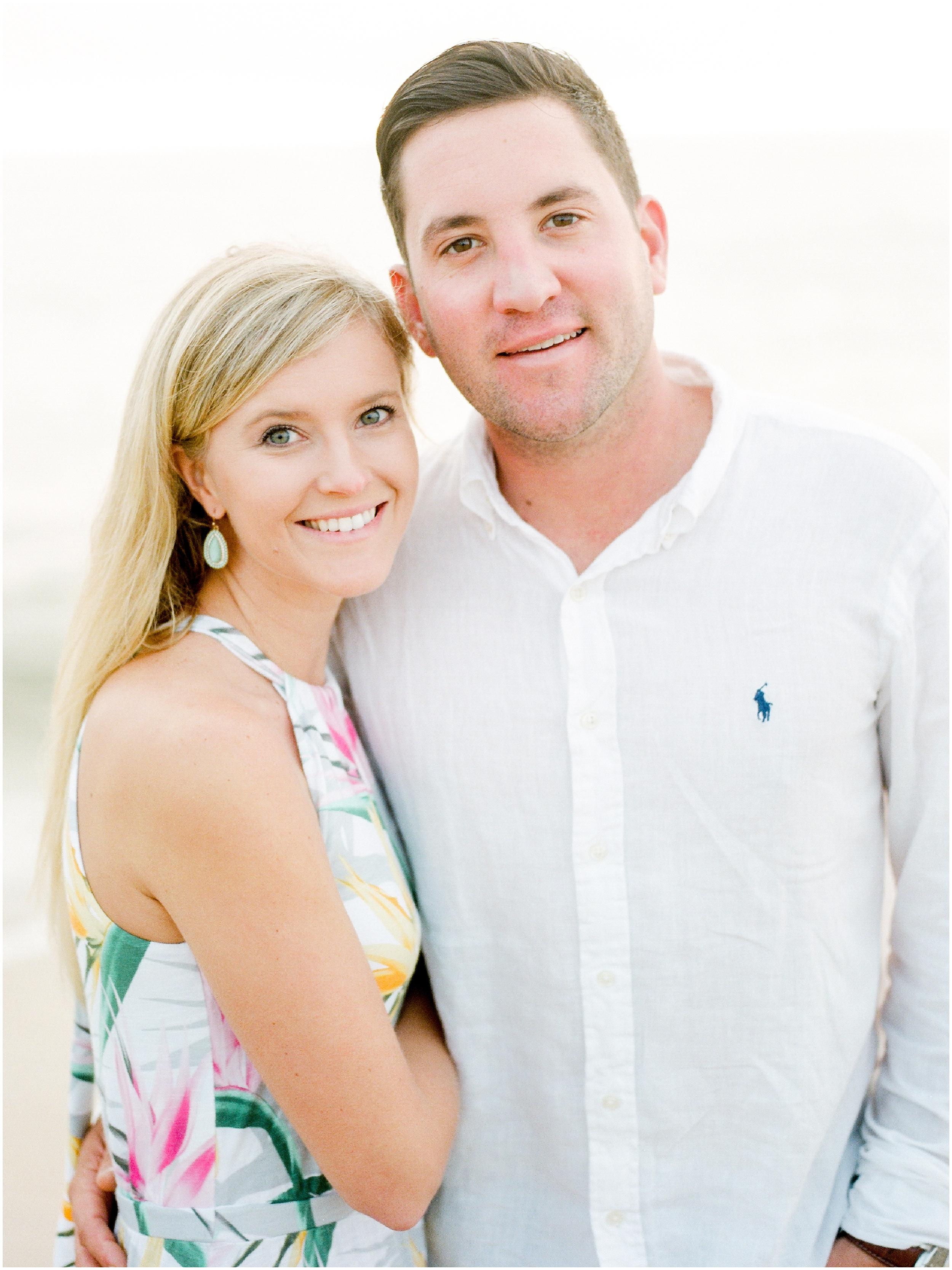 Sunrise Engagement Session at Vilano Beach- Jacksonville, Florida Fine Art Film Wedding Photography_0047.jpg