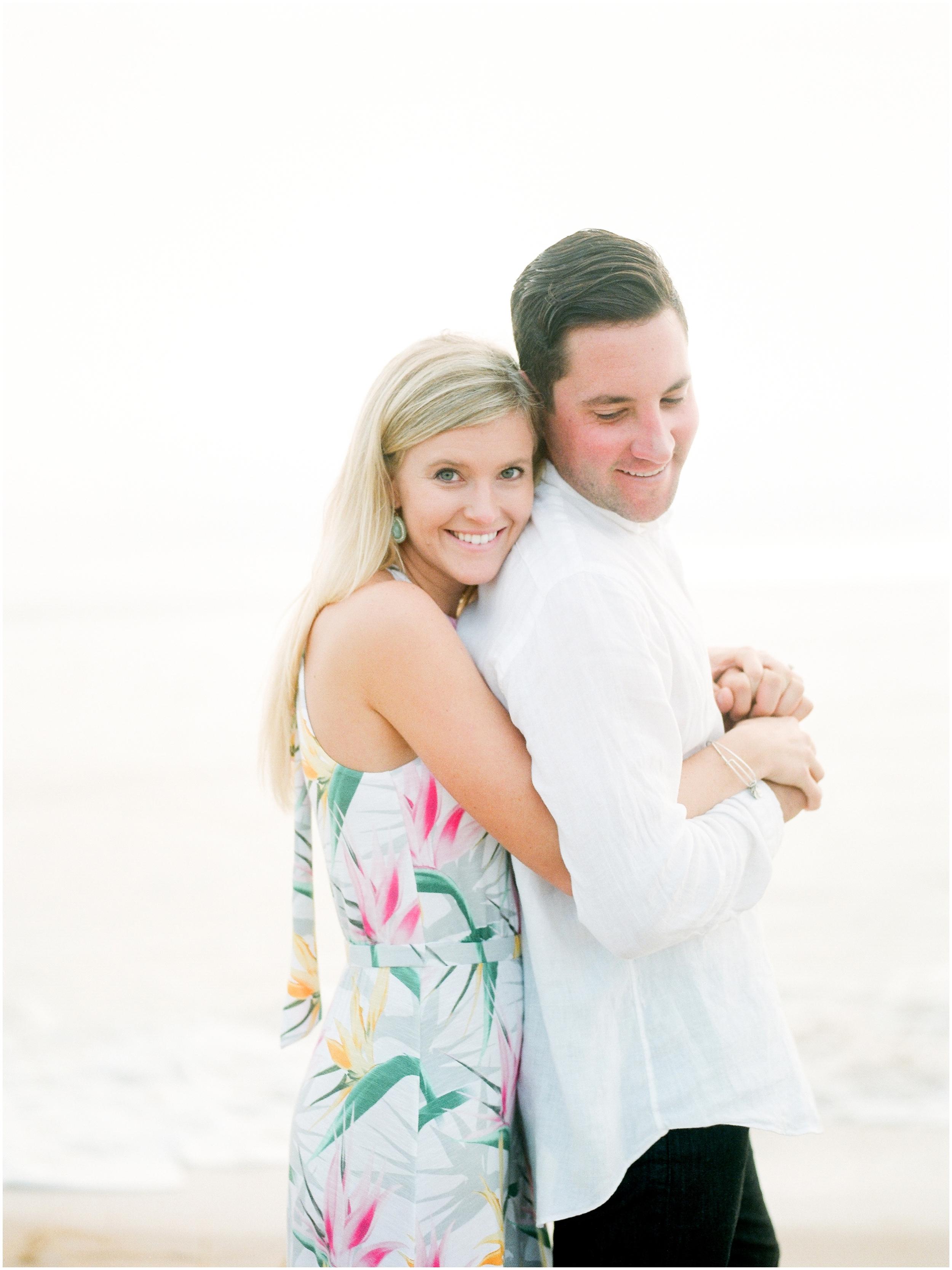 Sunrise Engagement Session at Vilano Beach- Jacksonville, Florida Fine Art Film Wedding Photography_0049.jpg