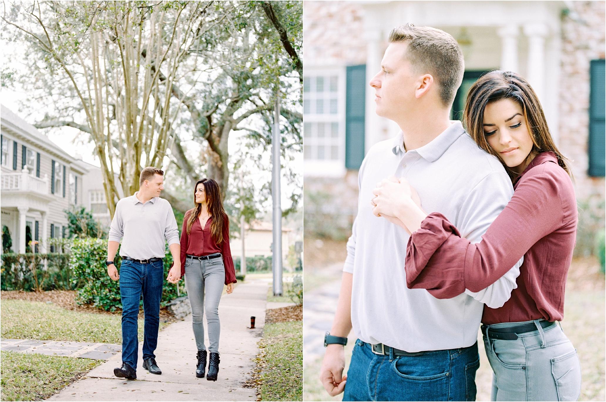 Lisa Silva Photography- Ponte Vedra Beach and Jacksonville, Florida Fine Art Film Wedding Photography- San Marco Jacksonville florida Engagement Session_0010.jpg