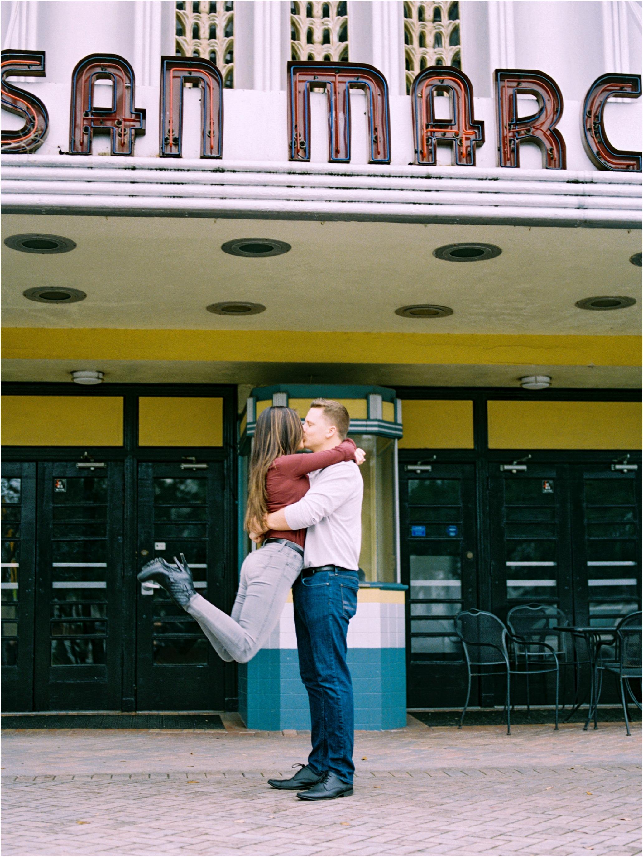 Lisa Silva Photography- Ponte Vedra Beach and Jacksonville, Florida Fine Art Film Wedding Photography- San Marco Jacksonville florida Engagement Session_0021.jpg