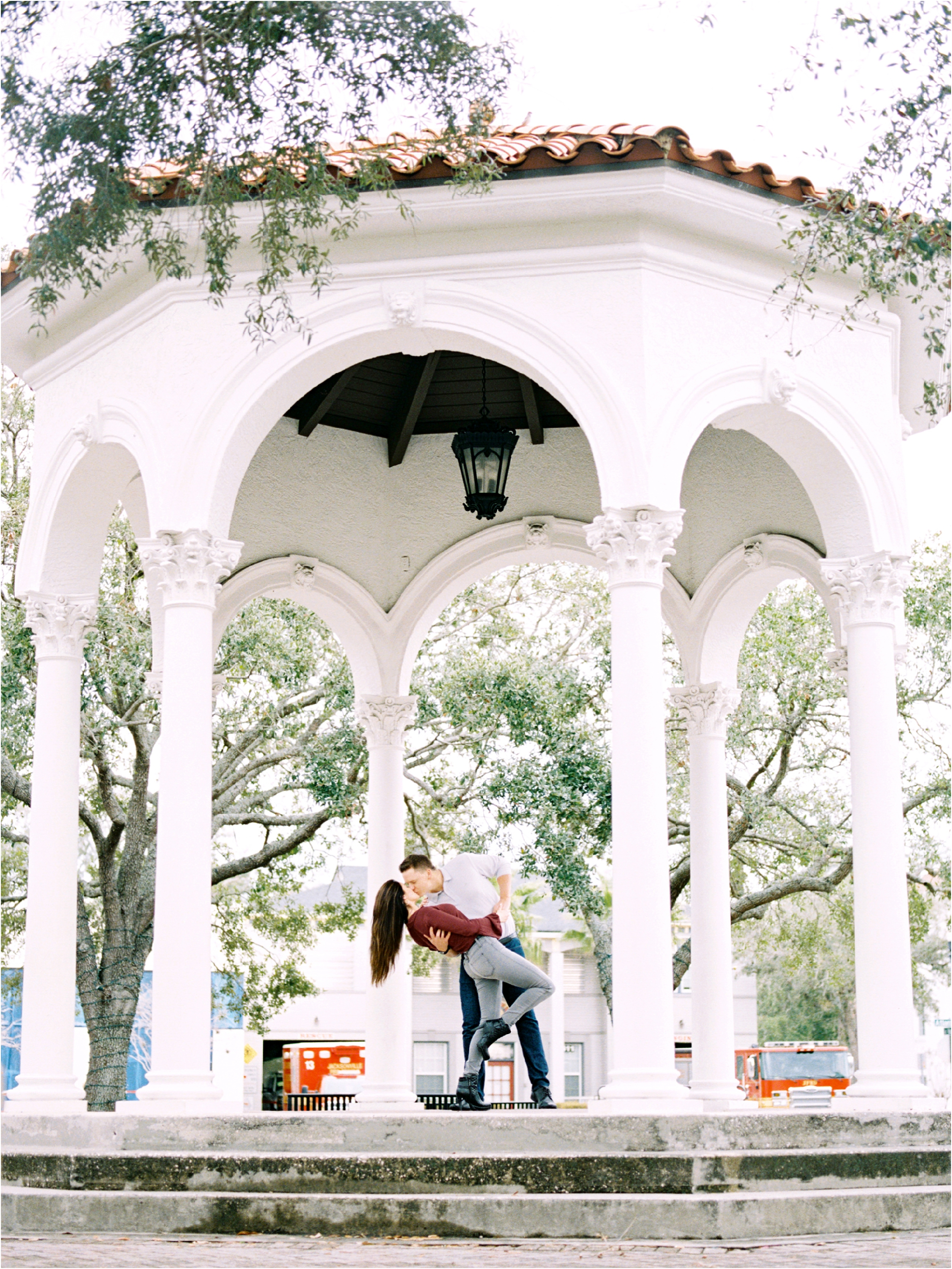 Lisa Silva Photography- Ponte Vedra Beach and Jacksonville, Florida Fine Art Film Wedding Photography- San Marco Jacksonville florida Engagement Session_0022.jpg