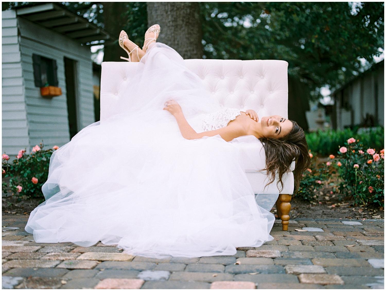 Lisa Silva Photography- Ponte Vedra Beach and Jacksonville, Florida Fine Art Film Wedding Photography- Spring Bridal Shoot at Ellie's Garden in San Marco, Jacksonville_0020.jpg