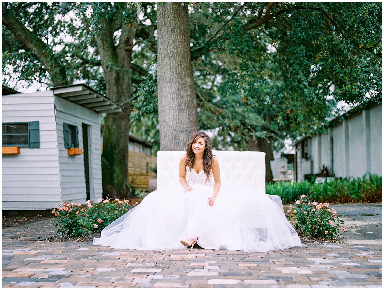 Lisa Silva Photography- Ponte Vedra Beach and Jacksonville, Florida Fine Art Film Wedding Photography- Spring Bridal Shoot at Ellie's Garden in San Marco, Jacksonville_0024.jpg